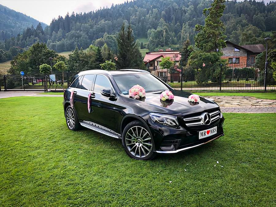 samochód naślub Mercedes GLC